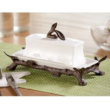 Twig Coll Butter Dish