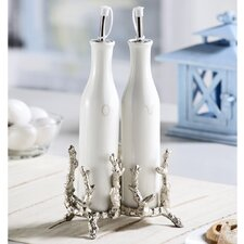 Coral Coll Oil and Vinegar Bottle Set