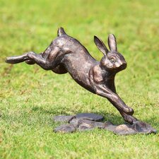 Running Rabbit Garden Statue
