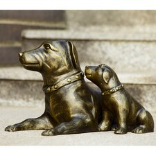 Devotion Dogs Garden Statue