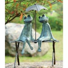 Frog Lovers Garden Statue