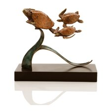 <strong>SPI Home</strong> Turtle Steady Swimmers Trio Figurine