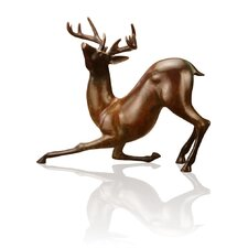 Contemporary Deer Sculpture