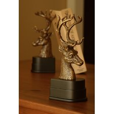 Deer Head Bookends Pair