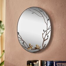 Bird and Branch Wall Mirror