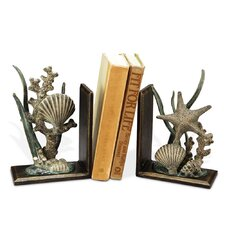 Shell Book Ends (Set of 2)