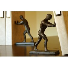 Working Men Bookends Pair