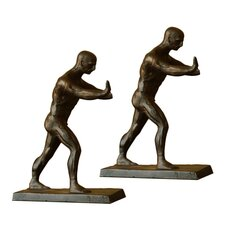 Working Men Book Ends Pair