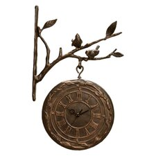 Bird Branch Wall Clock