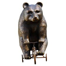 Big Bear Little Trike Statue