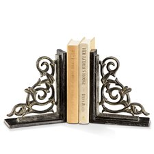 Classic Scroll Book Ends (Set of 2)