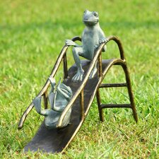 <strong>SPI Home</strong> Sliding Frogs Garden Statue