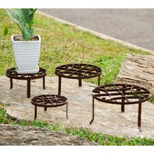 Round Nested Planter Stand (Set of 4)