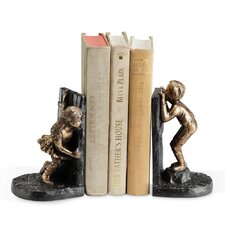 Girl Boy Hide and Seek Book End (Set of 2)
