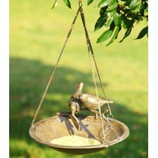 Lovebird Hanging Decorative Bird Feeder