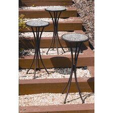 Eden Pedestal Plant Stand (Set of 3)