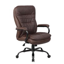 High-Back Executive Office Chair with Lumbar Support