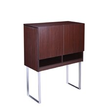 "Modular Laminate Series 41.5"" Hutch Bookcase"