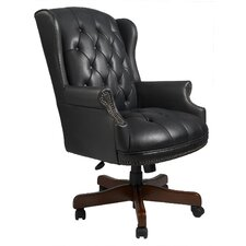 <strong>Boss Office Products</strong> Traditional Series High-Back Office Chair