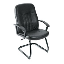 <strong>Boss Office Products</strong> Leather Guest Office Chair