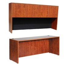 Credenza Shell with Hutch