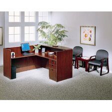 <strong>Boss Office Products</strong> Reception L-Shape Desk Office Suite