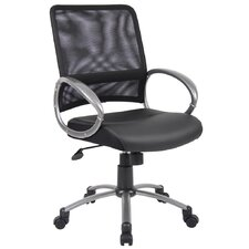 <strong>Boss Office Products</strong> Mid-Back Mesh Task Chair