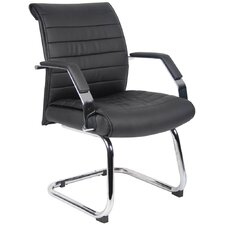 <strong>Boss Office Products</strong> Guest Chair with Ribbed Back