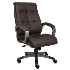 High-Back Double Plush Executive Chair