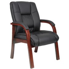 <strong>Boss Office Products</strong> Guest Chair with Mid Back
