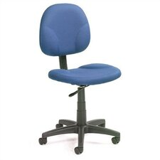 Mid-Back Ergonomic Task Chair without Arms