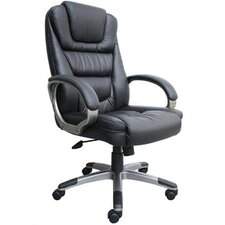 <strong>Boss Office Products</strong> High-Back LeatherPlus Executive Chair