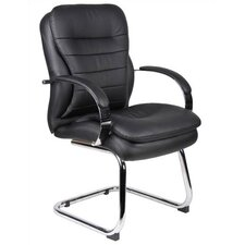 <strong>Boss Office Products</strong> Guest Chair with Soft Arms