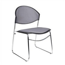 Chrome Framed Stacking Chair (Set of 4)