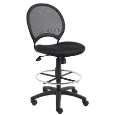 <strong>Boss Office Products</strong> Height Adjustable Drafting Stool