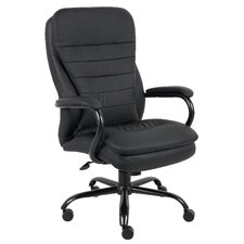 <strong>Boss Office Products</strong> High-Back Heavy Duty Double Plush Caressoft Office Chair