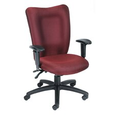 <strong>Boss Office Products</strong> High-Back Fabric Multi-Function Task Chair