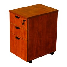 3-Drawer Mobile Pedestal Box