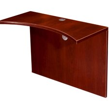<strong>Boss Office Products</strong> Curved Bridge Desk