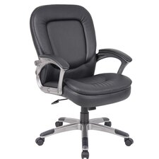 <strong>Boss Office Products</strong> Office Chair with Padded Armrests