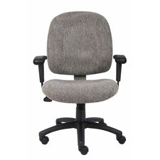 Mid-Back Ergonomic Task Chair with Tilt Tension Control