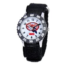 Boy Spider Man Time Teacher Watch