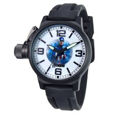 Men's Captain America Crown Protector Watch