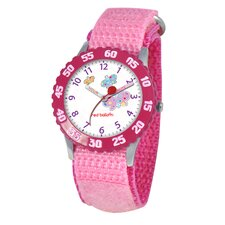 <strong>Red Balloon</strong> Kid's Butterflies Time Teacher Watch in Pink