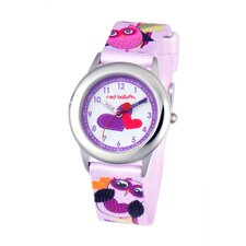 <strong>Red Balloon</strong> Girl's Love Owl Kid's Time Teacher Watch