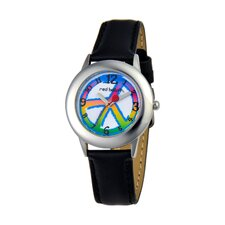 <strong>Red Balloon</strong> Unisex Peace, Love & Happiness Tween Watch