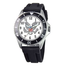 Men's U.S. Army Honor Rubber Strap Watch