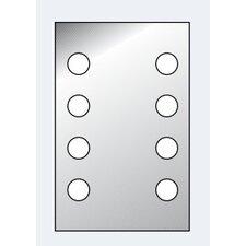 "45cm Beleuchteter Spiegel ""DotLight"""