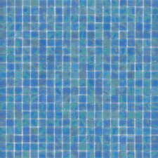 "Elida Glass 13"" x 13"" Mosaic in Ocean Reef"
