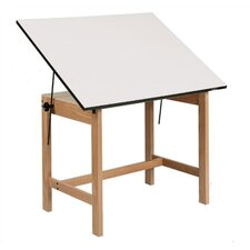 <strong>Alvin and Co.</strong> Titan Melamine Drafting Table